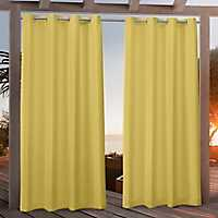 Butter Nicole Outdoor Curtain Panel Set