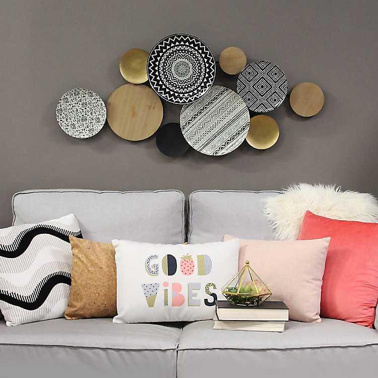 Boho Medley Plates Wall Plaque Kirklands