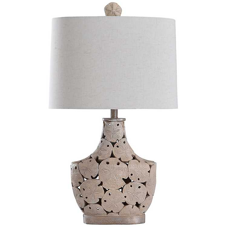 Carmel Sand Dollar Table Lamp