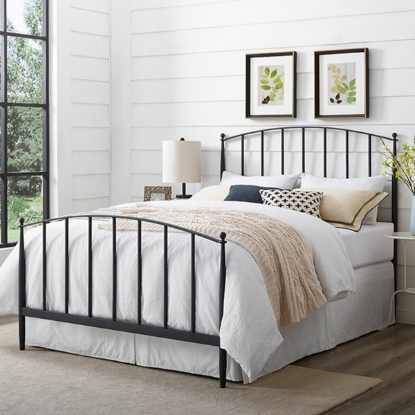 Whitley Metal Slat King Bed