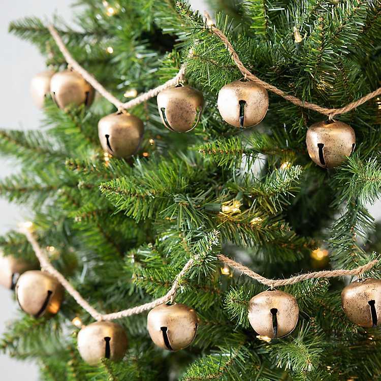 Christmas Bell.Christmas Bell Garland