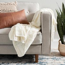 Miraculous Blankets Throw Blankets Kirklands Bralicious Painted Fabric Chair Ideas Braliciousco