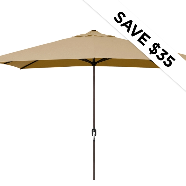 Save $35 - Outdoor Umbrellas - Now $65.00