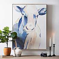 Romantic Cow Painting