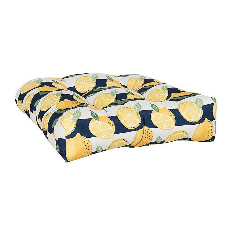 Lemon Outdoor Chair Cushion