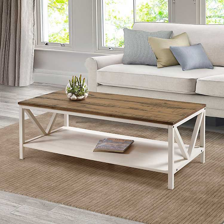 Fantastic White Wash Distressed Barnwood Coffee Table Machost Co Dining Chair Design Ideas Machostcouk