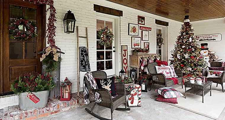 Outdoor Christmas Decorations Home