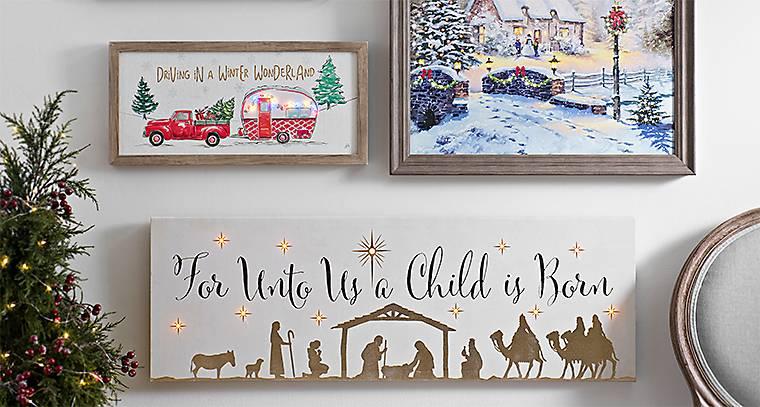 Charmant Christmas Wall Decor