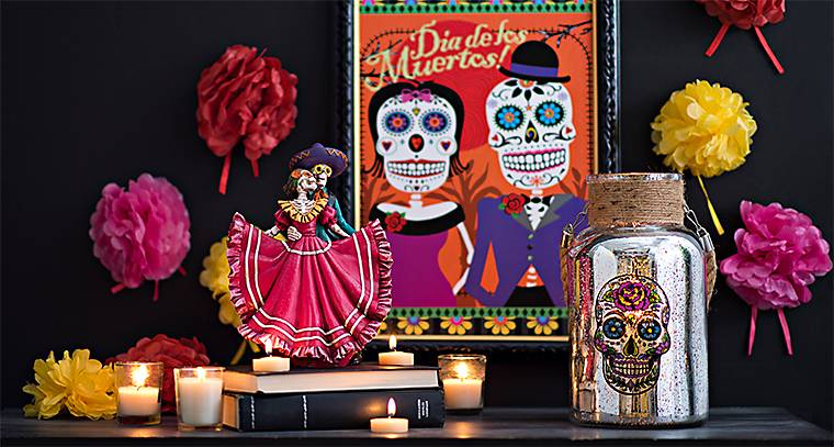 Day Of The Dead Wedding Gifts: Day Of The Dead Decorations