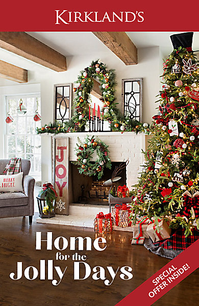 Kirklands Christmas.Christmas Catalog Kirklands