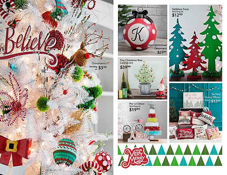 Flip through our Christmas catalog above to see our best looks and explore our new Christmas collections.