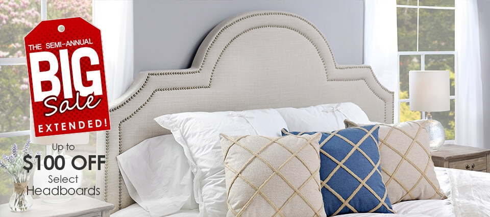 Big Sale Extended - Up to $100 off select headboards
