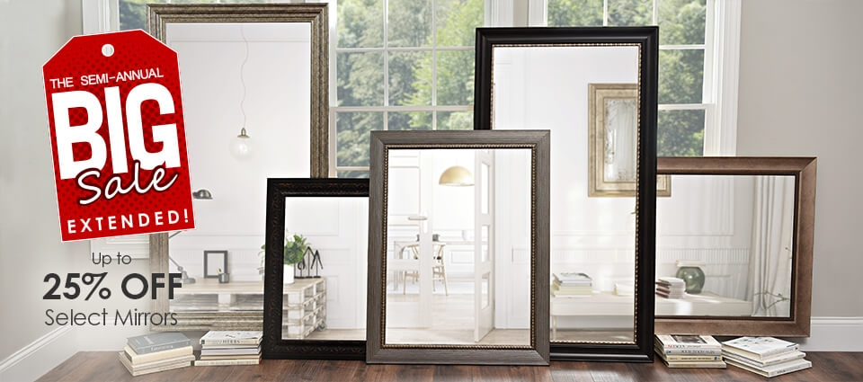 Big Sale Extended - Up to 25% off select mirrors