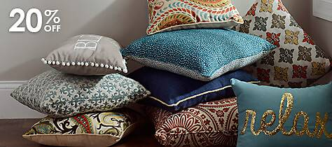 A pile of pillows from which to choose
