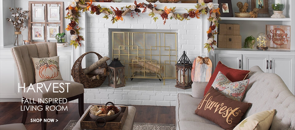 Harvest: Fall Inspired Living Room - Buy Now