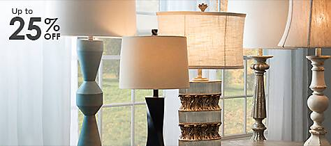 A selection of stylish Lamps