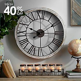 Dawson Industrial Clock