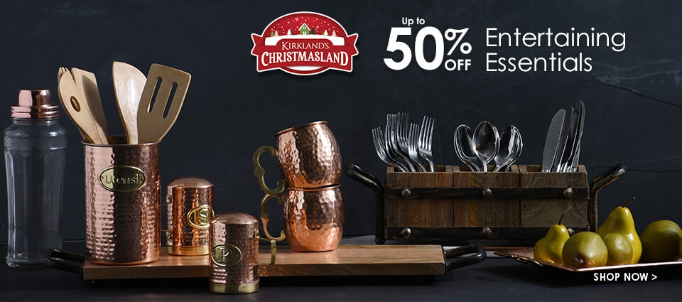 Up to 50% Off Entertaining Essentials - Shop Now