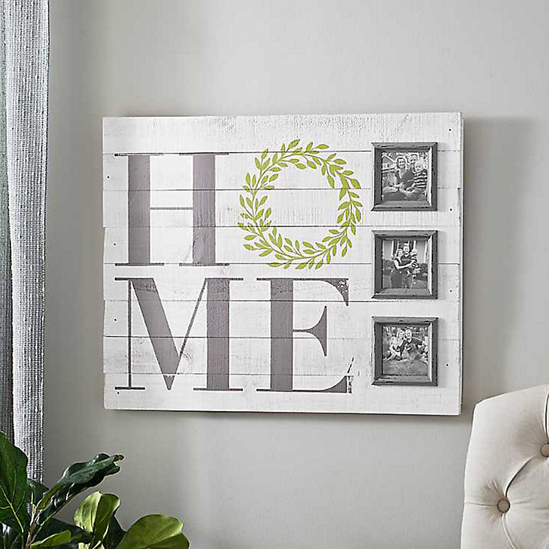Home Wreath Collage Frame
