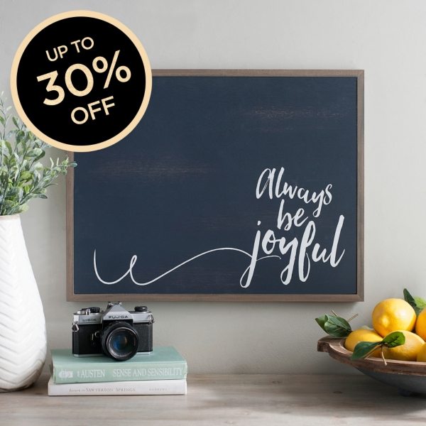 Up To 30% off Wall Decor