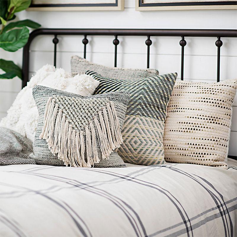 A selection of pillows