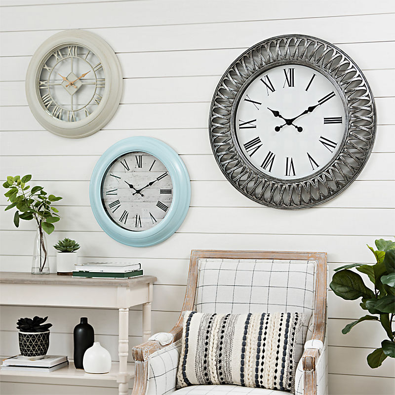 check out our selection of designer wall clocks