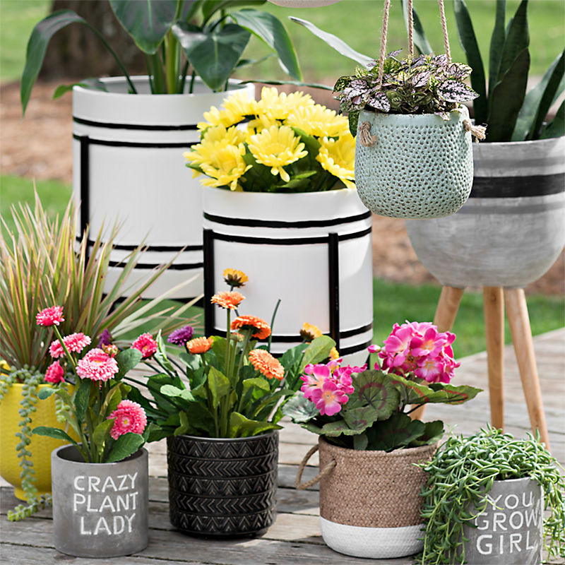 A great selection of planters