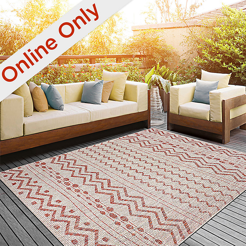 Online Only Selection of Rugs