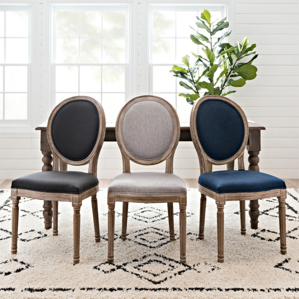 3 Louis Dining Chairs