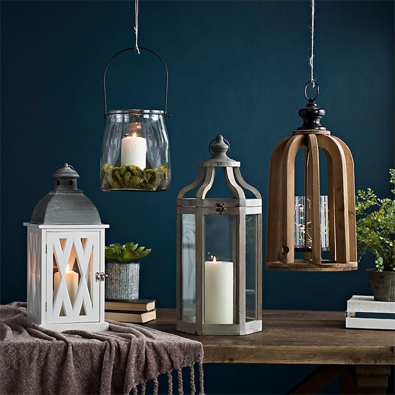 Stylish candle lanterns