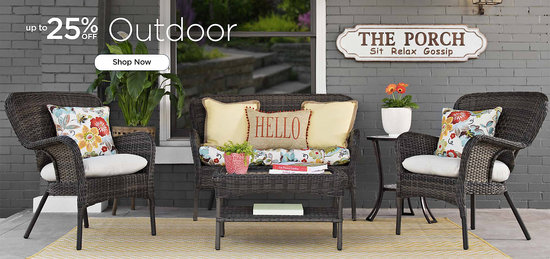 Up to 25% Off Outdoor - Shop Now
