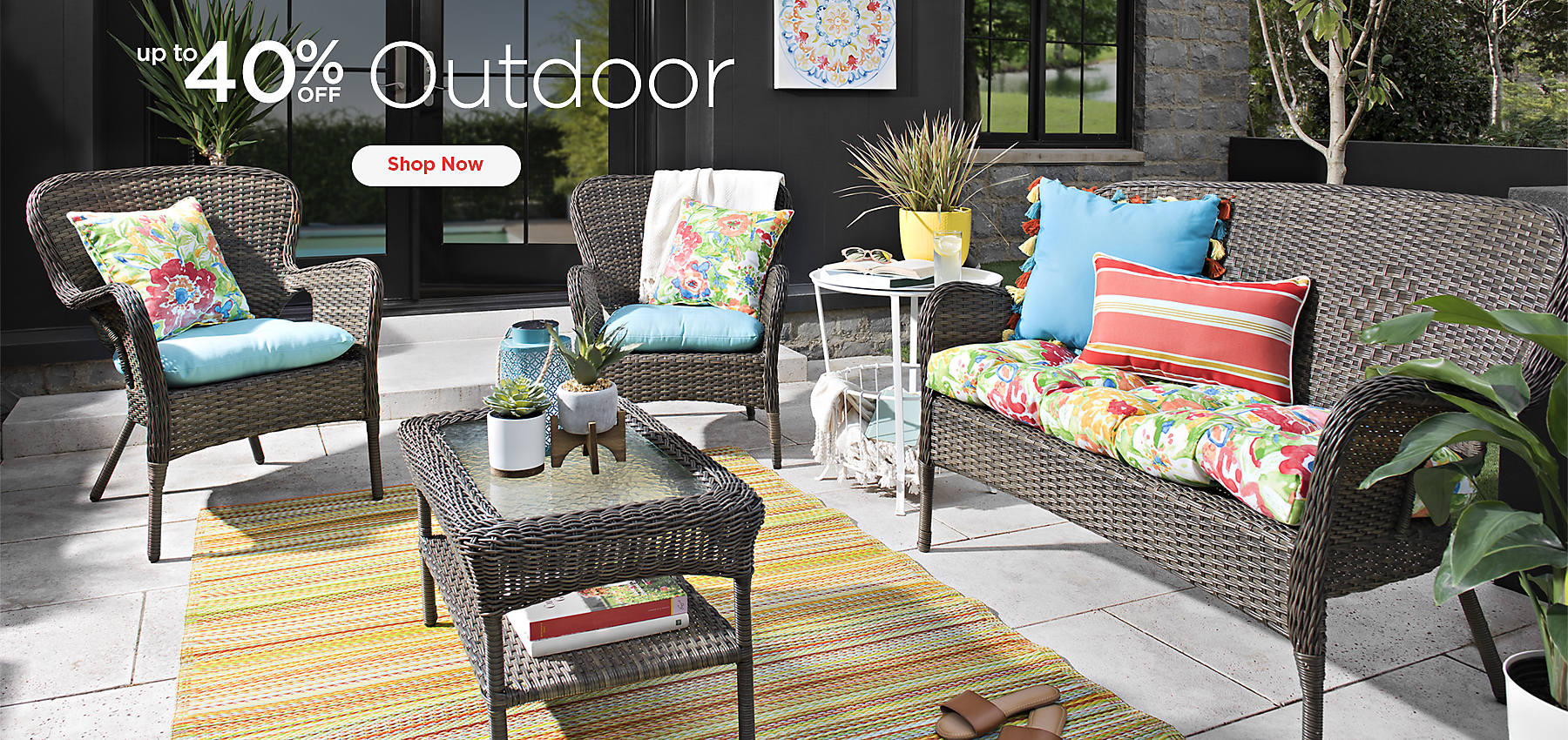 Up to 40% Off Outdoor - Shop Now