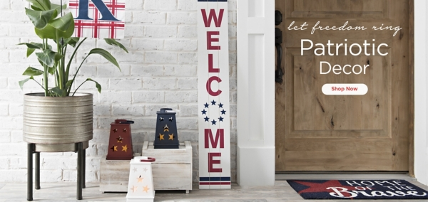 Let Freedom Ring Patriotic Decor - Shop Now