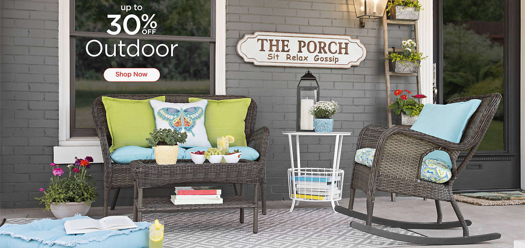 Up To 30% Off Outdoor   Shop Now