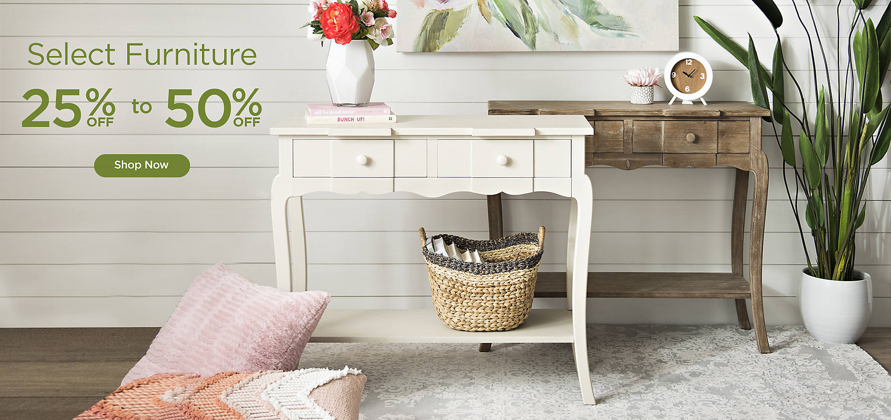 25 To 50 Off Select Furniture