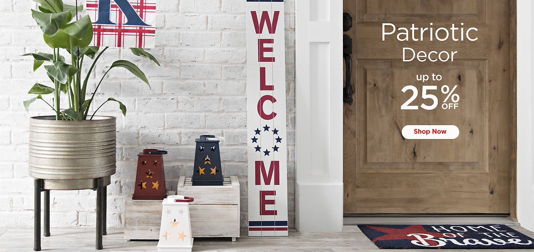 Up To 25 Off Patriotic Decor