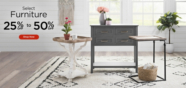 25% to 50% Off Select Furniture - Shop Now