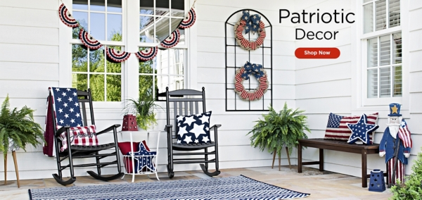 Patriotic Decor - Shop Now