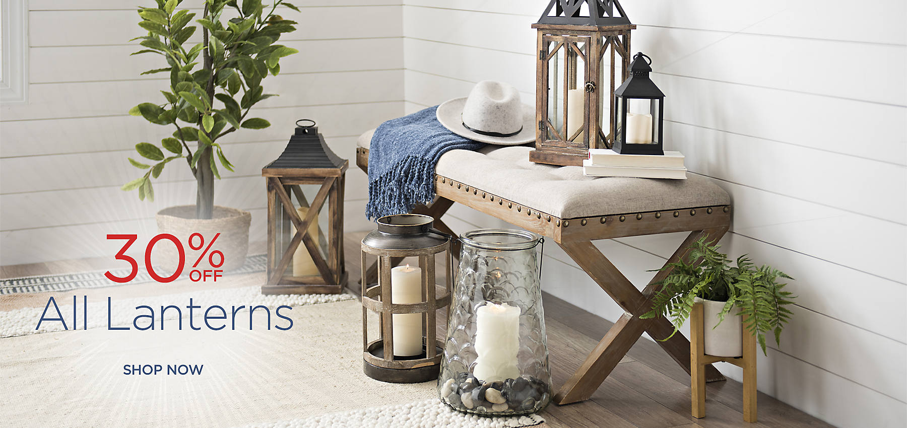 30% Off All Lanterns - Shop Now