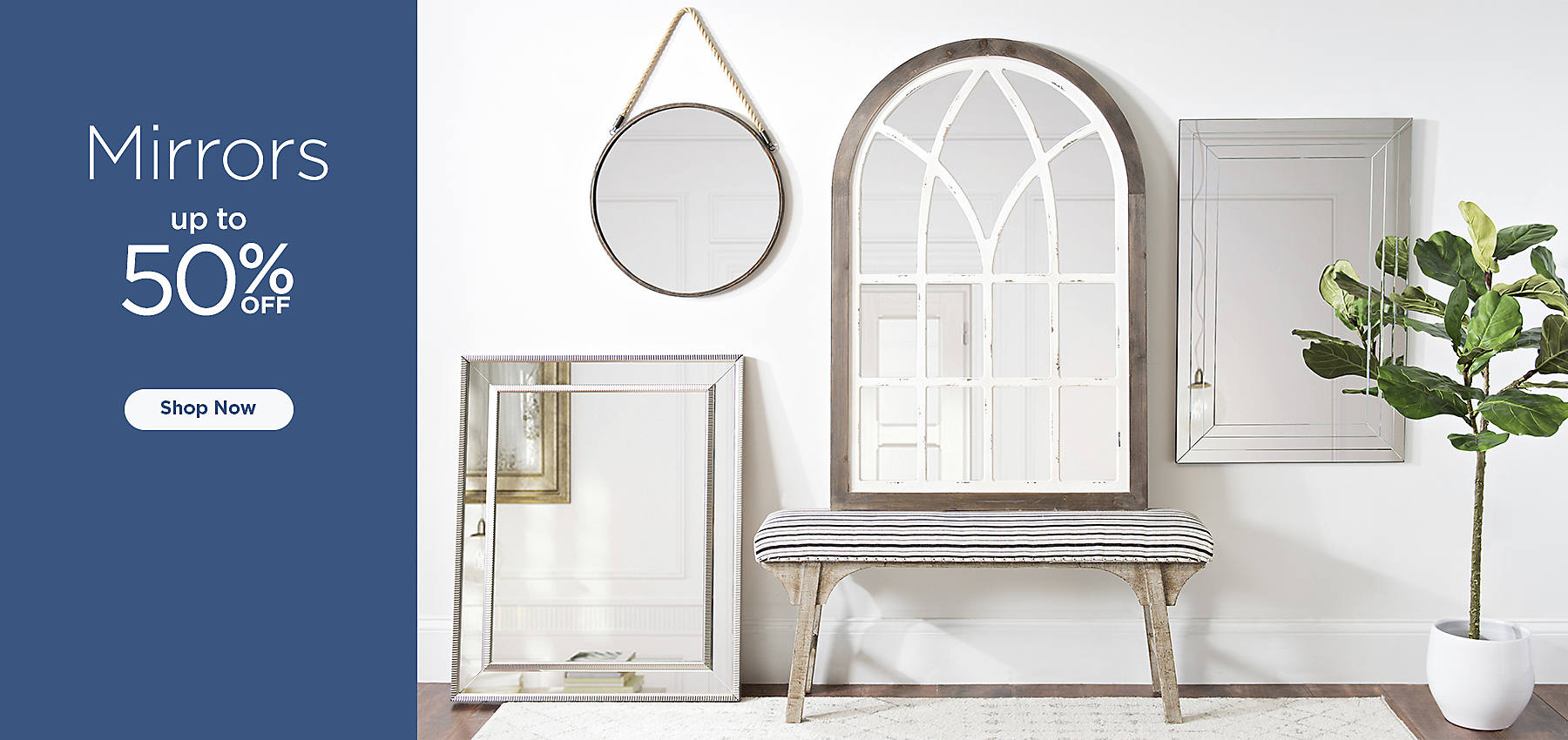 Mirrors up to 50% Off - Shop Now