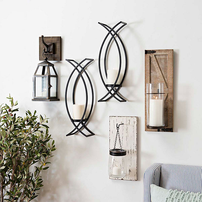 A veriety of Candle Sconces