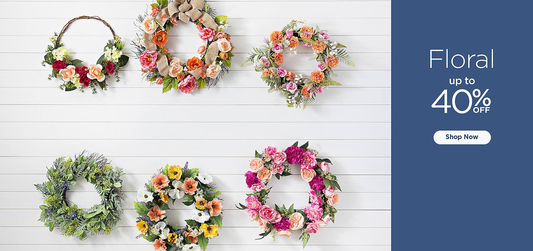 Floral 40% Off - Shop Now