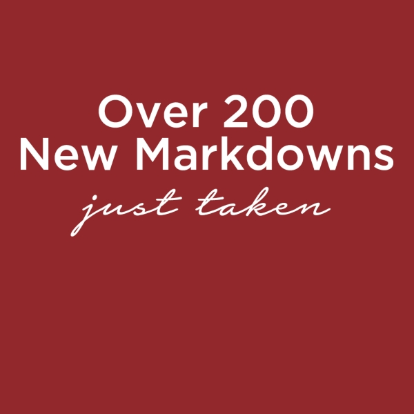Over 200 New Markdowns Just Taken