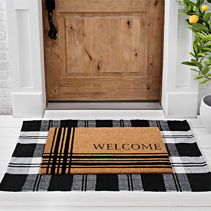 There's No Place Like Home Leaf Doormat
