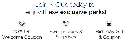 Welcome Offer - Sweepstakes and Surprises - Birthday Gift and Coupon