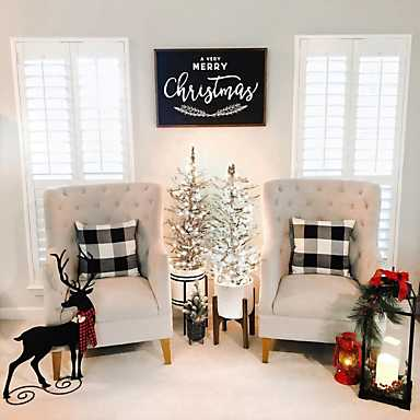 Farmhouse Christmas Inspiration from the Kirkland's Insiders