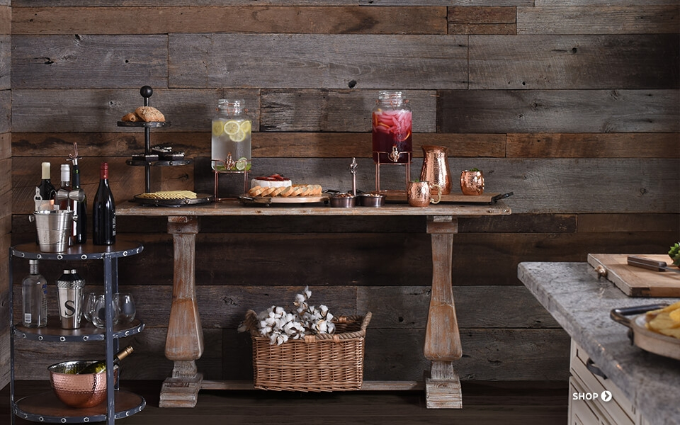 Find unique kitchen decor and accessories kirklands for Dining room decor accessories