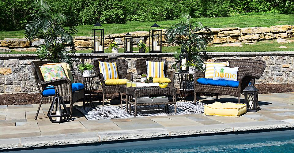 Everything you need to decorate your outdoor spaces
