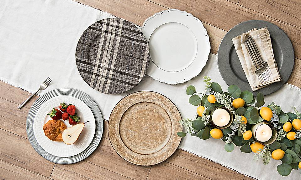 Kitchen accessories and dining room decor.