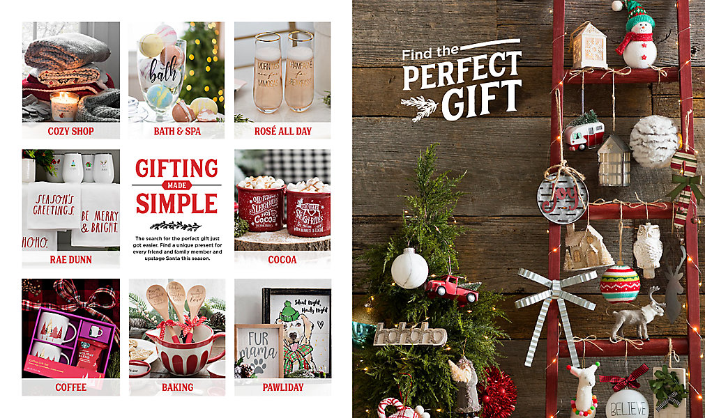 Spread a little Christmas cheer with the delightful gifts you'll find in our Christmas Gift Catalog! Flip through the catalog above and then shop all of ...